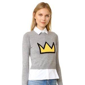👑 AO x Basquiat Nikia Crown Pullover